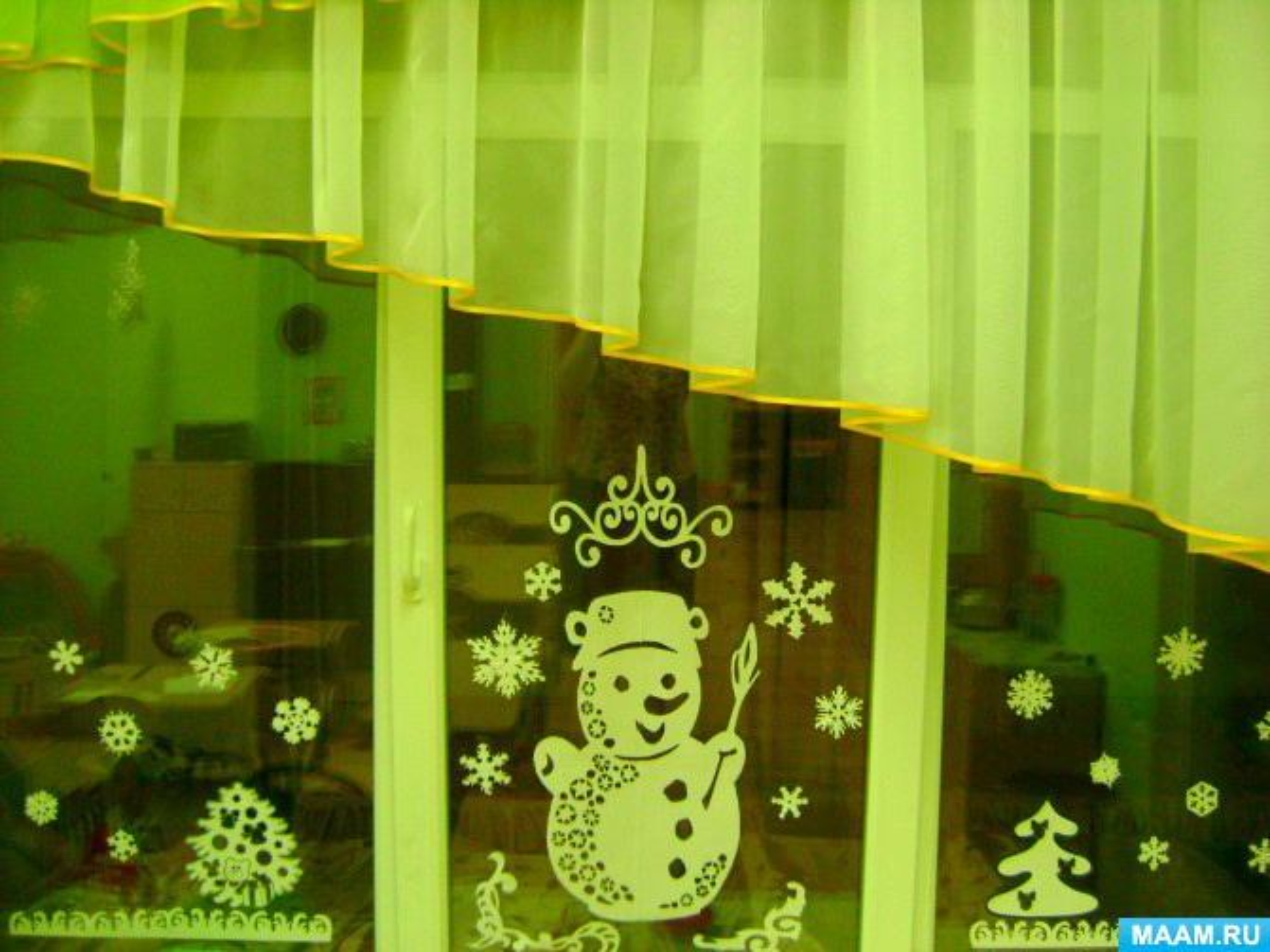 Сценарий зимнего развлечения «Найдём друзей для Снеговика»