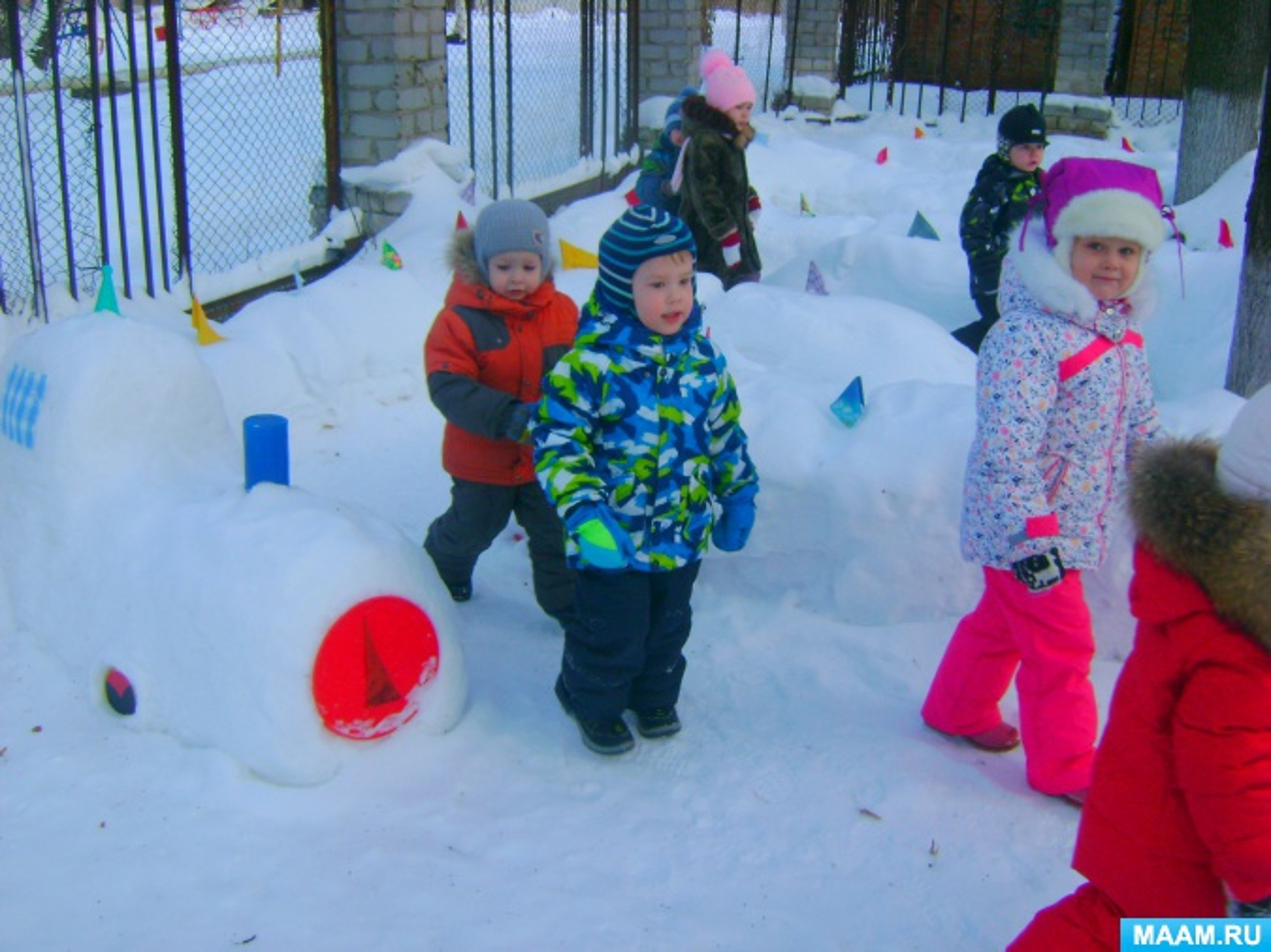 Сценарий зимнего досуга «Мы мороза не боимся»