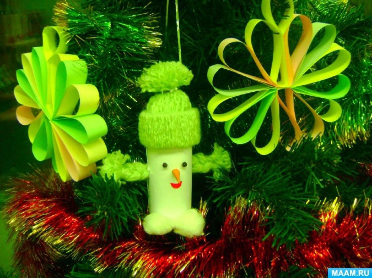 Зимний праздник в рамках творческой мастерской «День снеговика»