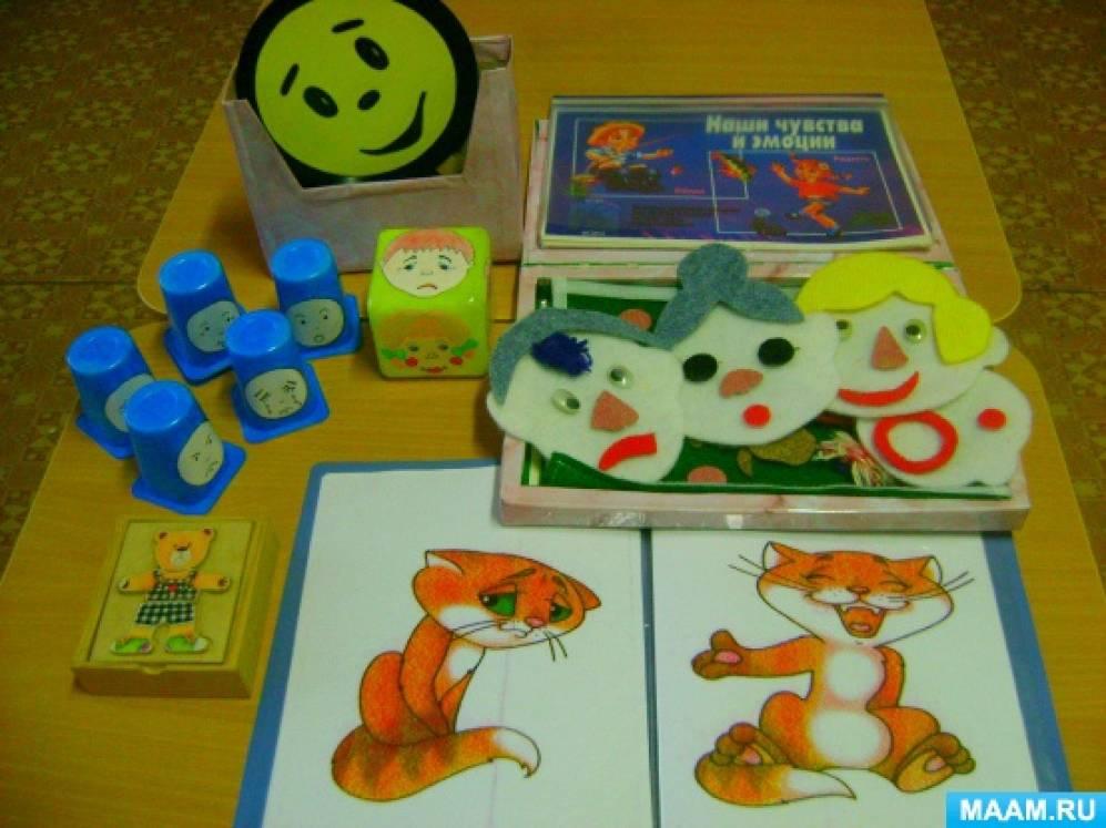 Игры-этюды на выражение движений и основных эмоций