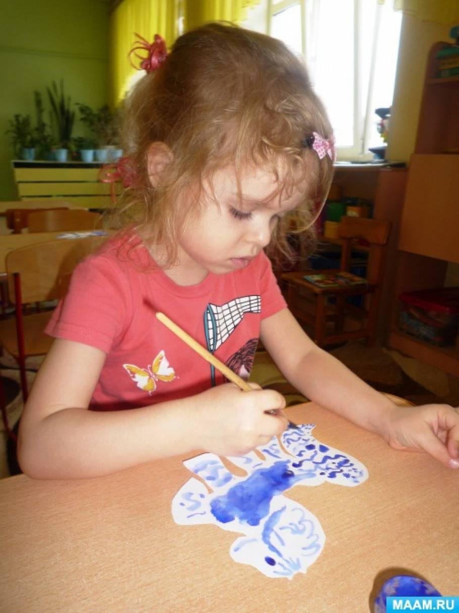 знакомство с группой и детьми дошкольного возраста