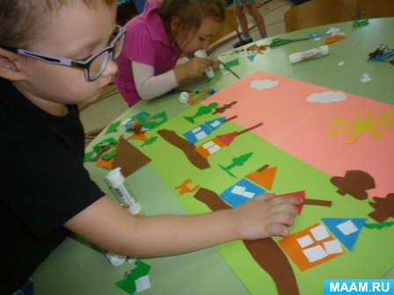 Фотоотчёт продуктивной деятельности детей по тематической неделе «Родной мой город Бузулук»