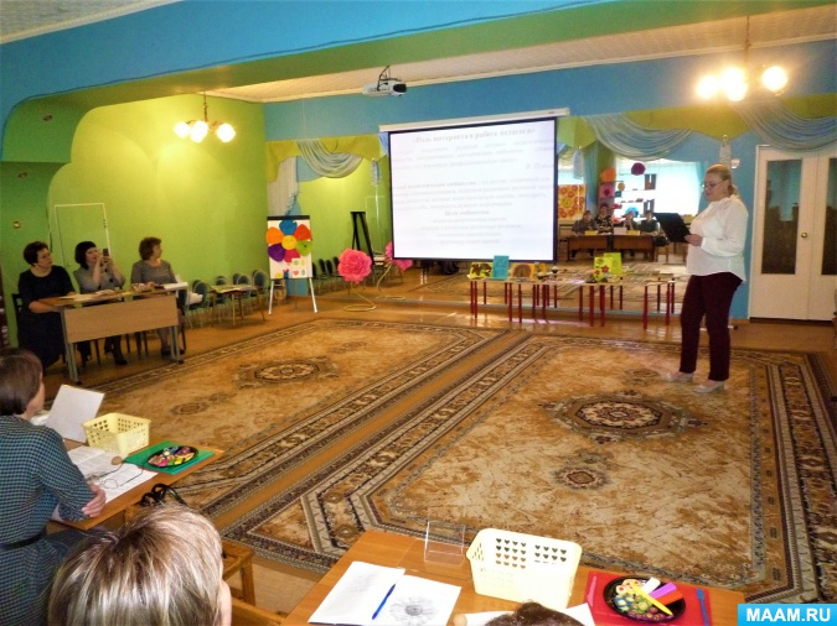 «Интернет-ресурс сайт МAAM.RU в жизни дошкольного педагога». Выступление на городском методическом объединении