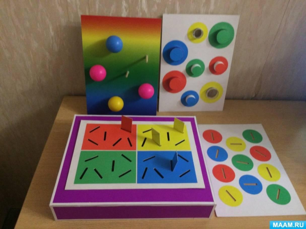 Дидактическая игра «Чудесная коробочка» для детей раннего возраста