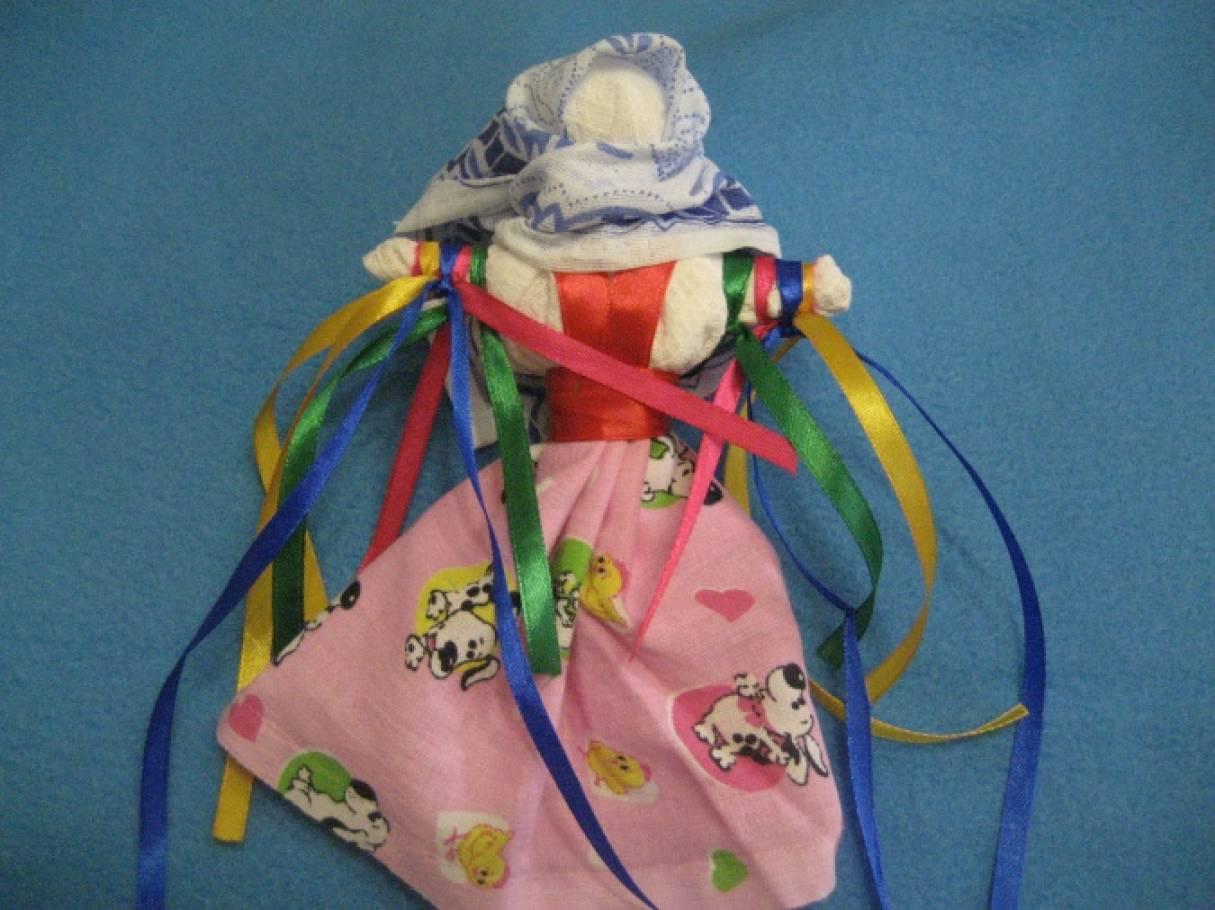 мастер-класс по изготовлению куклы оберега