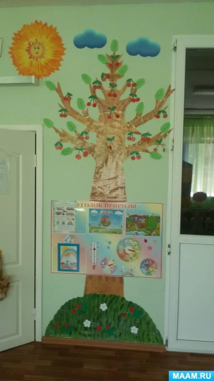 знакомим детей с природой в дет саду
