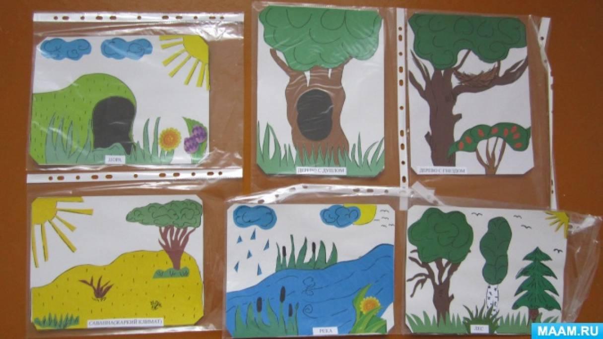 Дидактическая игра по экологическому развитию для детей 3–7 лет «Животные мои друзья»