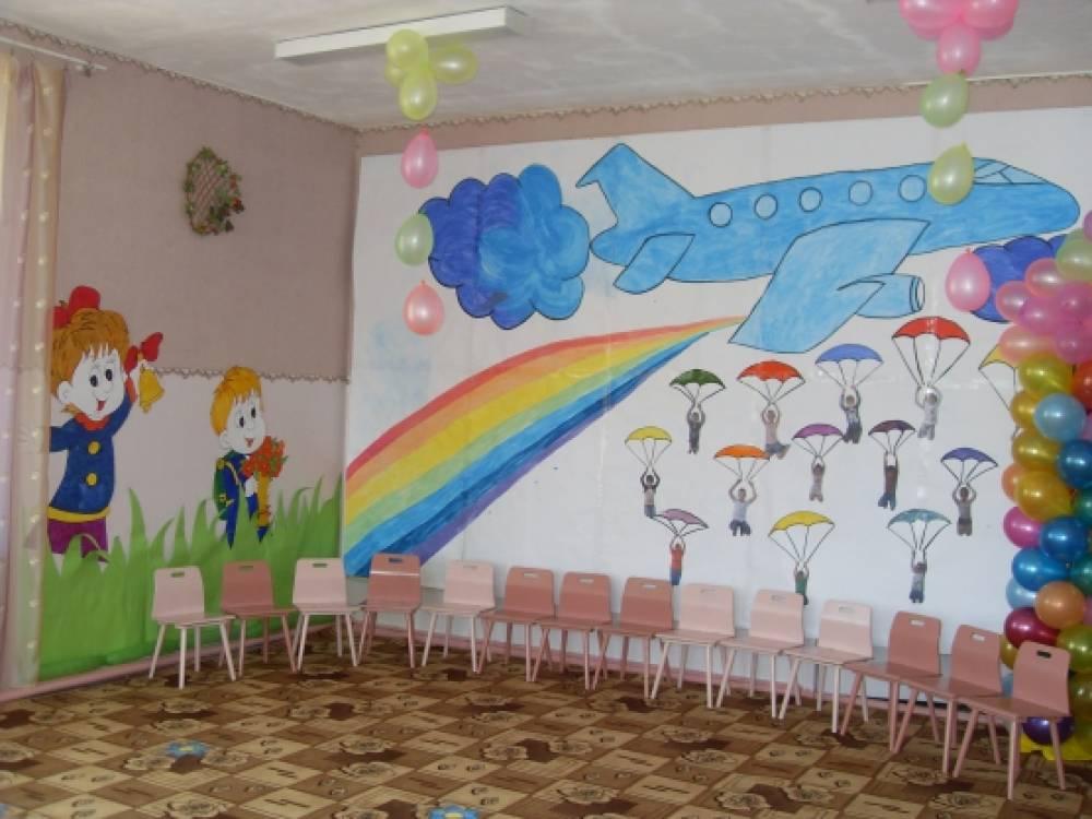 Оформление зала выпускной в детском саду своими руками 414