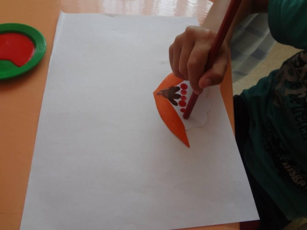 Рисунок карандашом дерево рябина