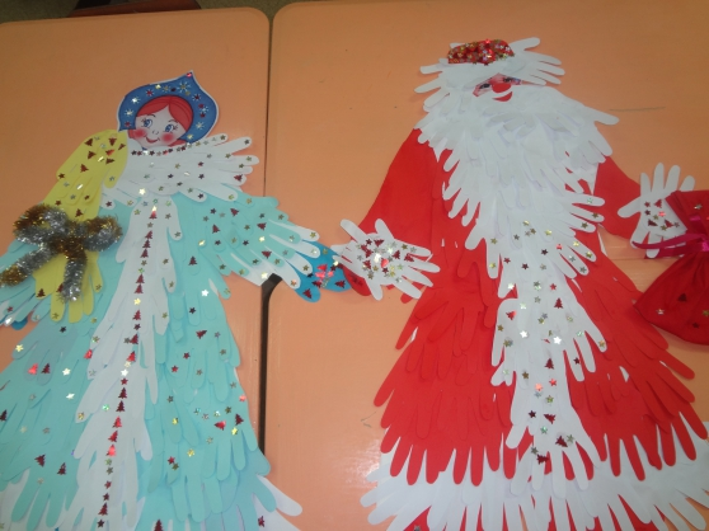 Сделать снегурочку из бумаги