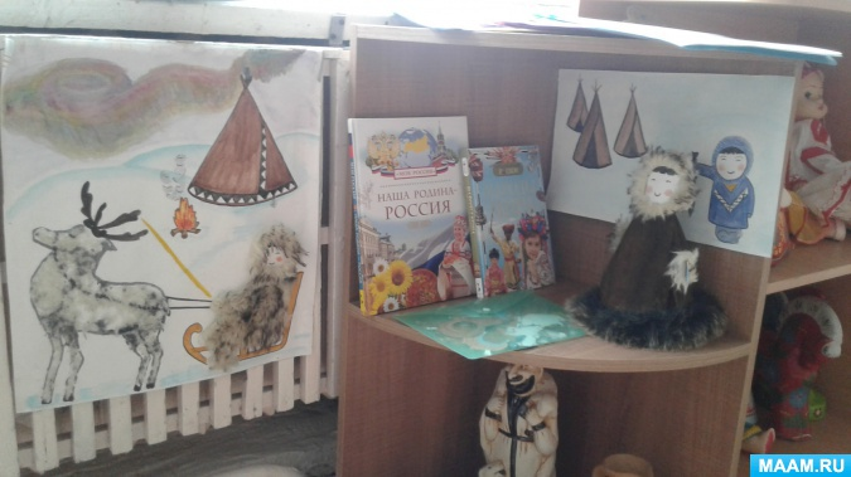 Формирование представлений детей 6–7 лет о культуре народов севера средствами народного творчества.