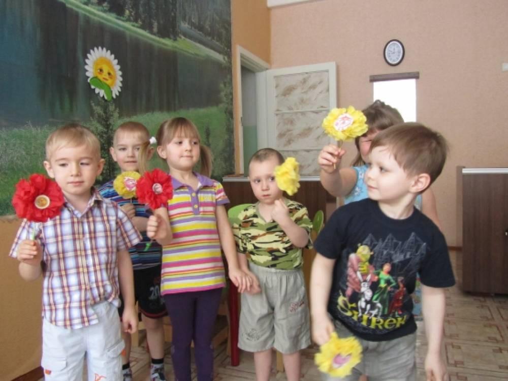 знакомство с росписью детей дошкольного возраста