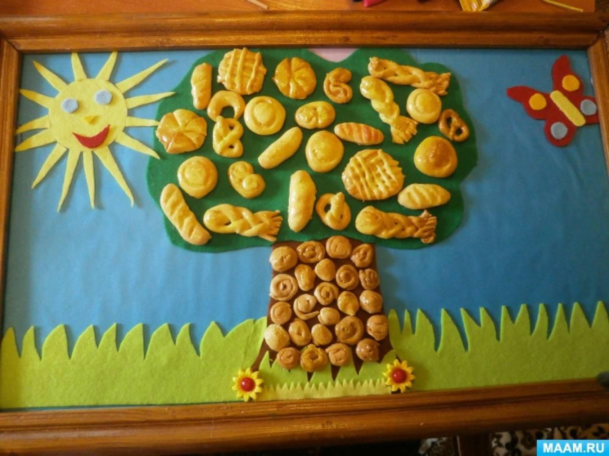Поделка в сад на тему хлеб