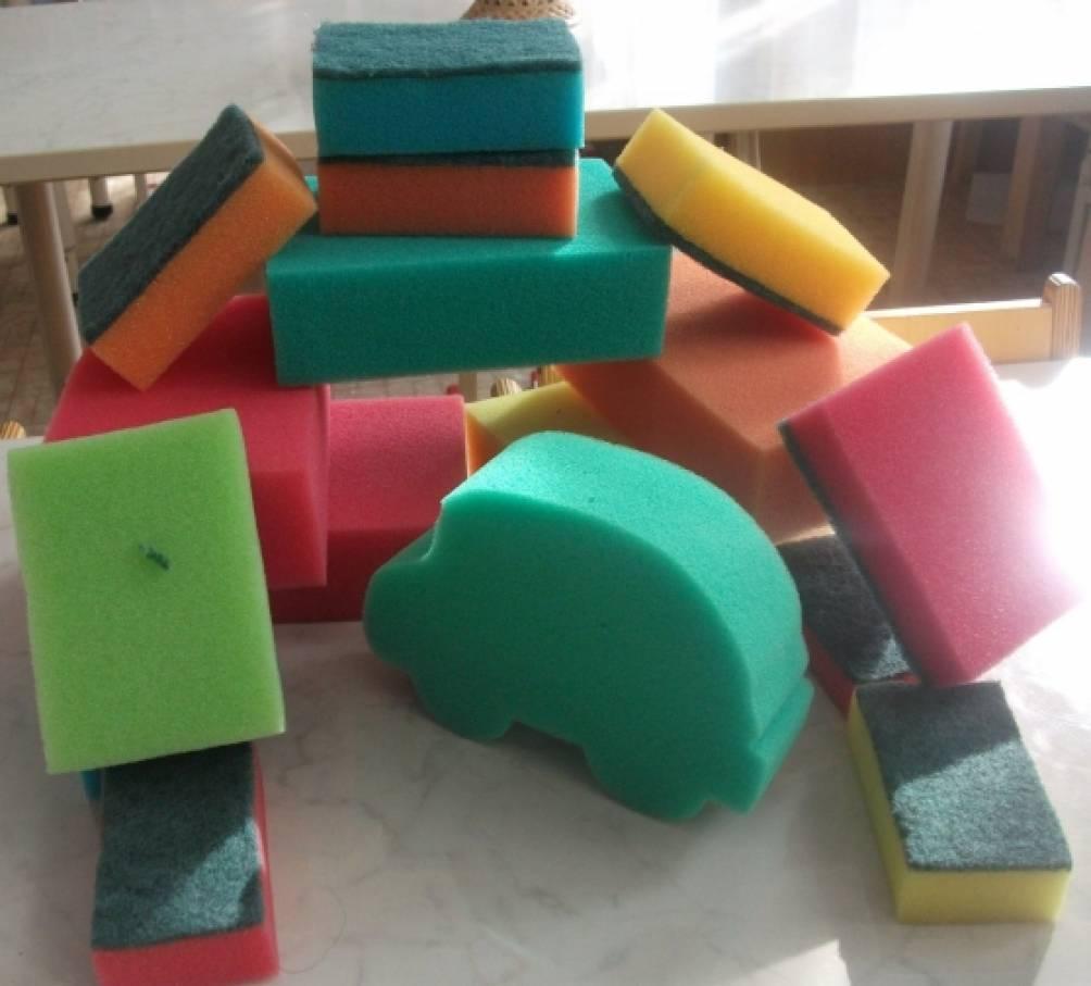 Как сделать губки для игрушек 265