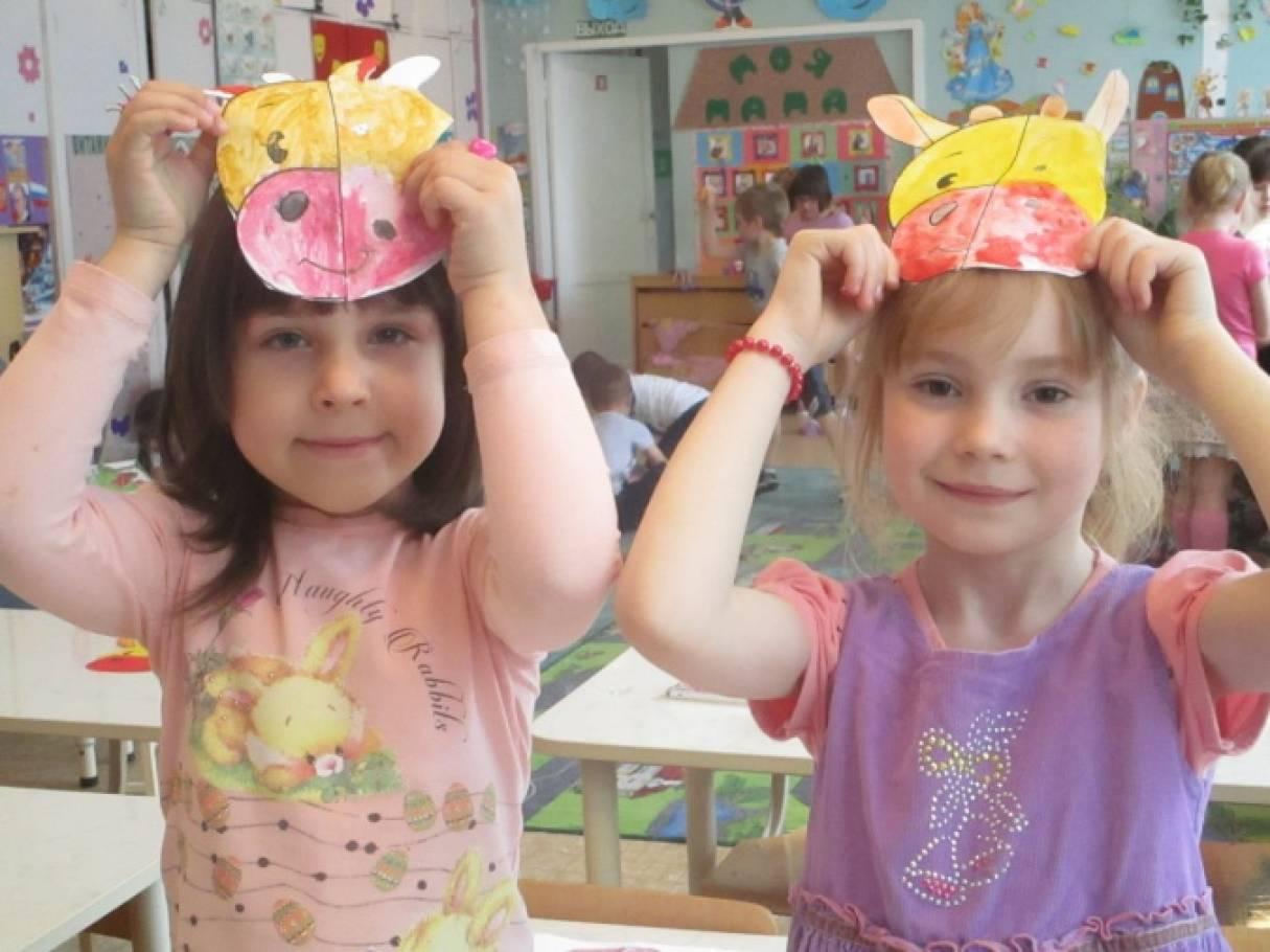 Поделка маска в детский сад