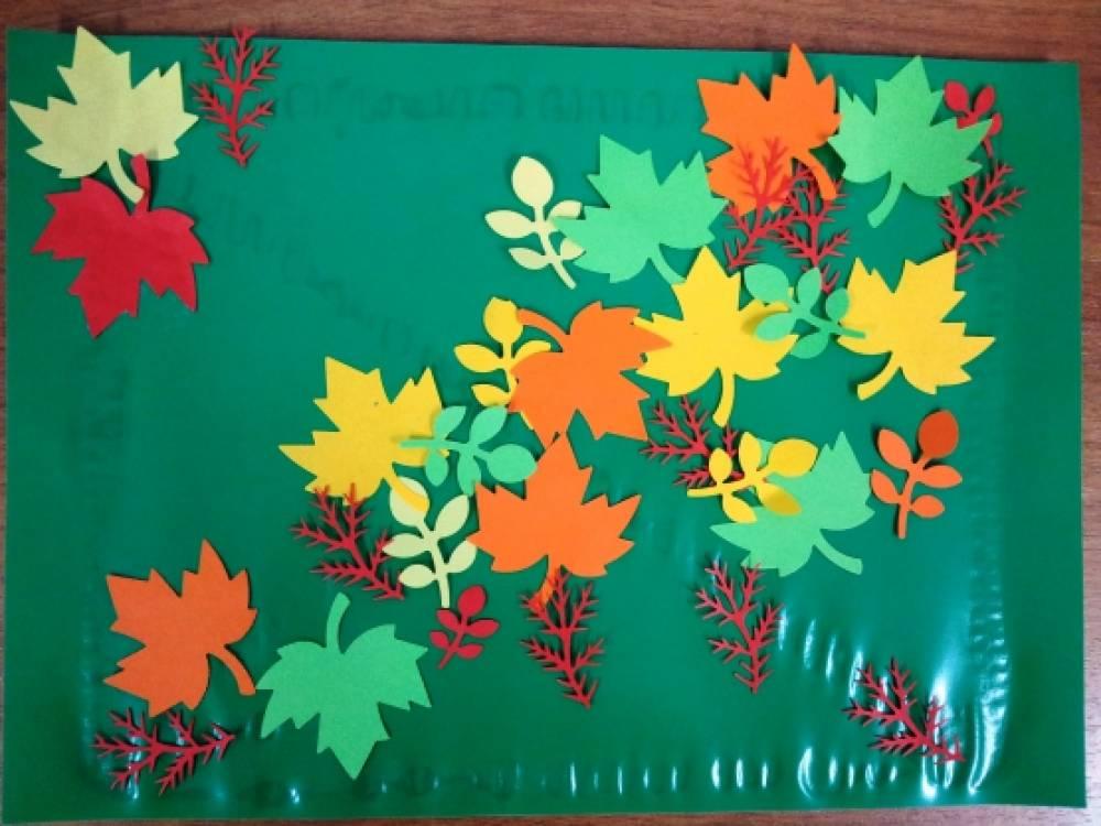 Поделки из бумаги осень 4 класс