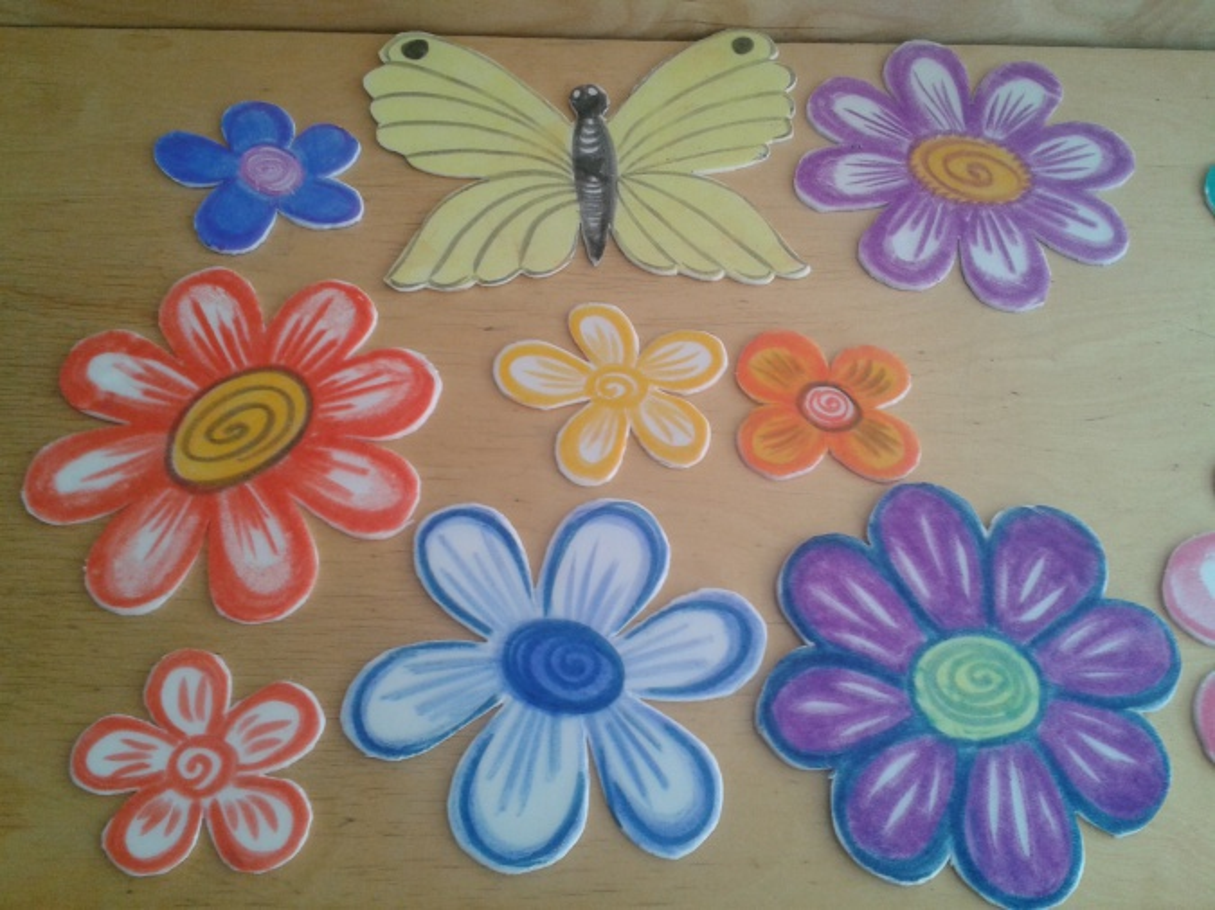 Цветы для детского сада своими руками фото