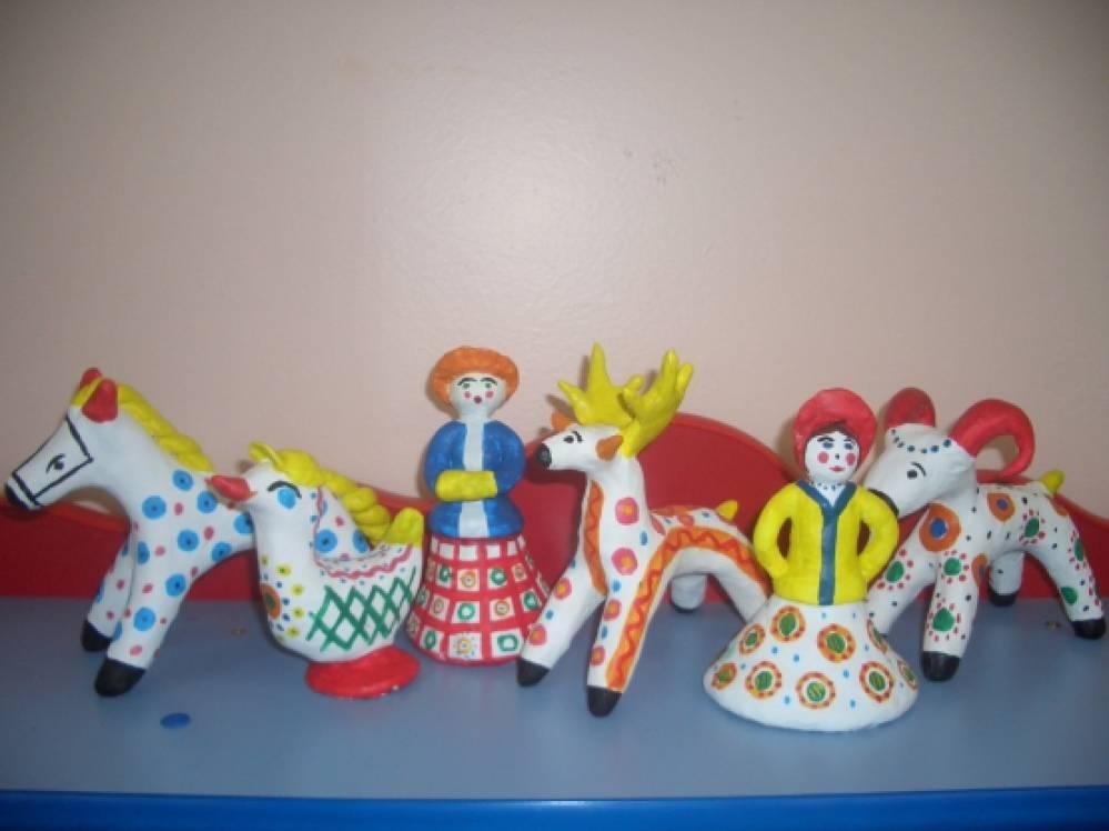 знакомим дошкольников с декоративным искусством