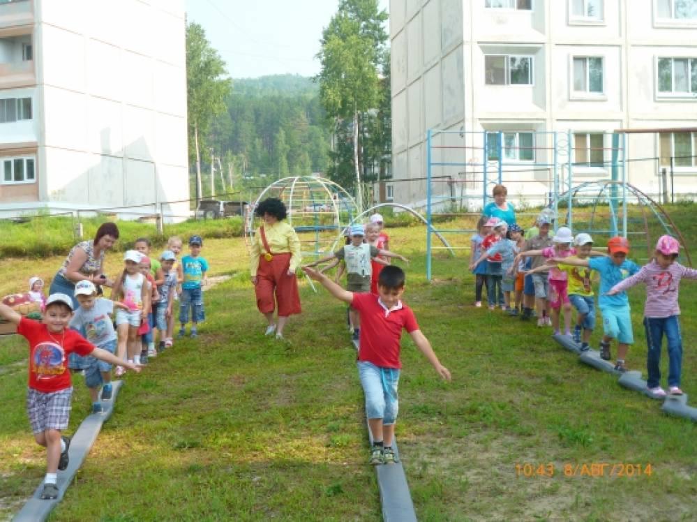 День физкультурника в детском саду