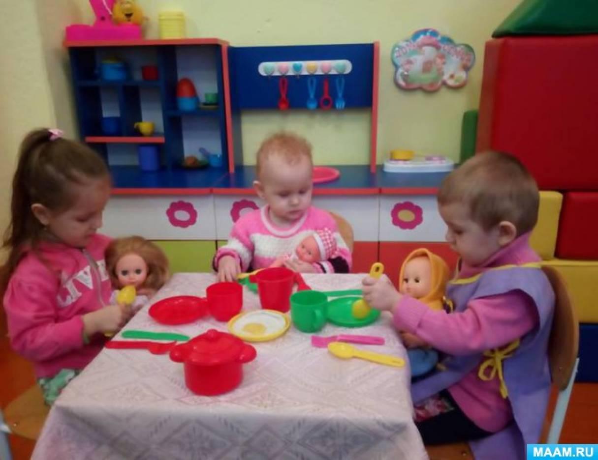 Проект по формированию культурно-гигиенических навыков у детей ранней группы «Мы друзья Мойдодыра»