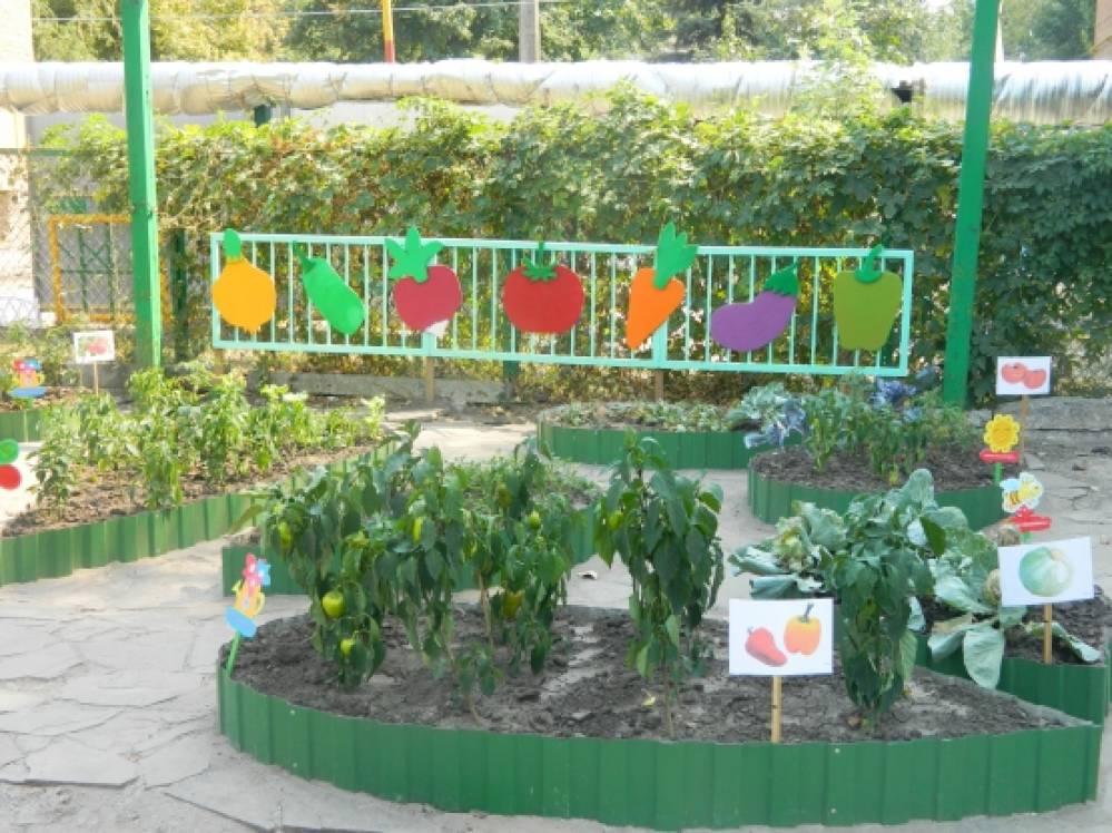 Летнее оформление участка в детском саду своими руками