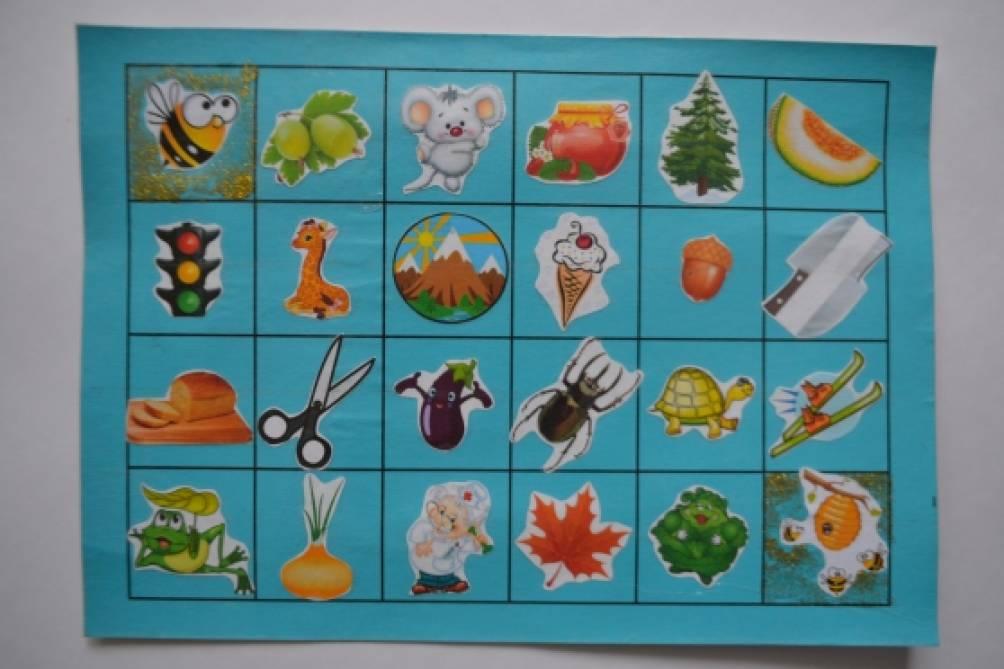 Логопедическая игра «Проведи пчелку к улею»