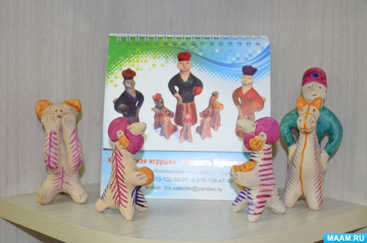 Кожлянская игрушка  filimonovomuseumru