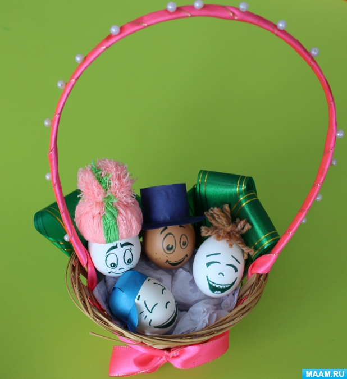 Семейное творчество «Лучшее пасхальное яйцо».
