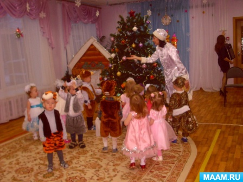 Проект для детей первой младшей группы «Чудо-праздник — Новый год!»