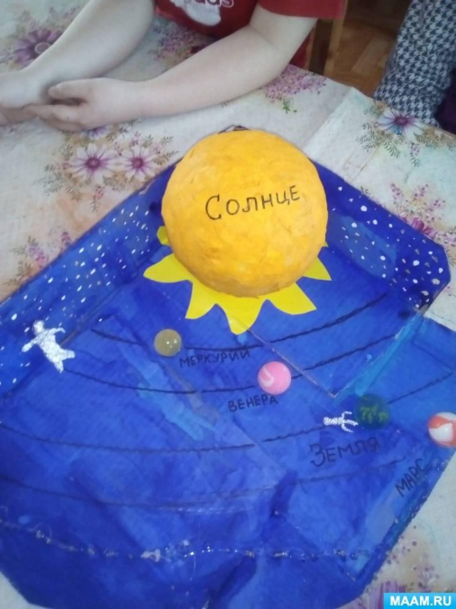 Мастер-класс «Макет «Солнце и планеты»