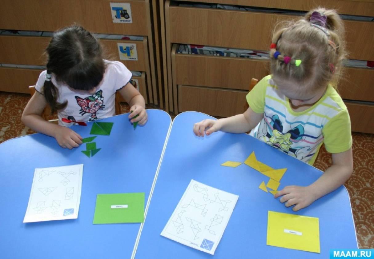 Развиваем интеллект детей через игры-головоломки.
