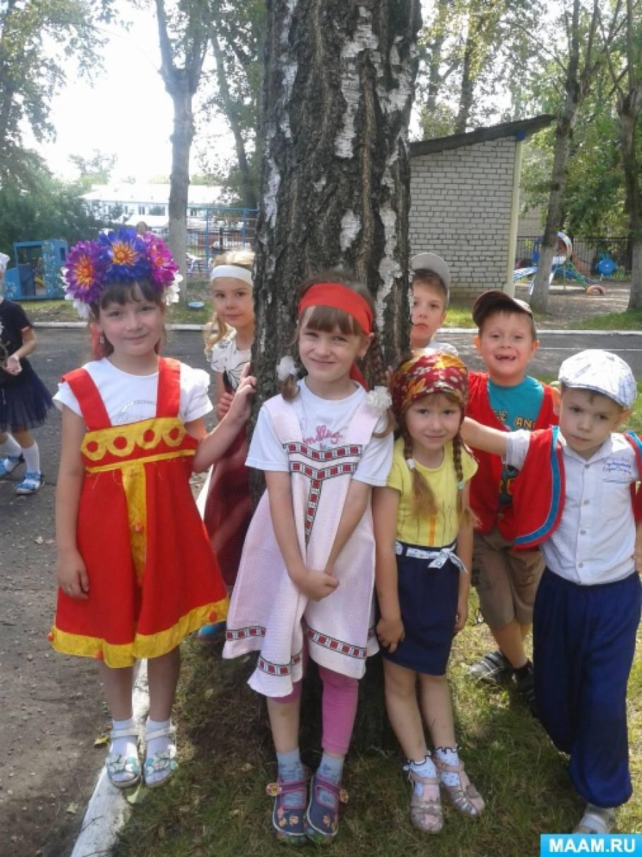 Фотоотчет «Праздник русской березки»