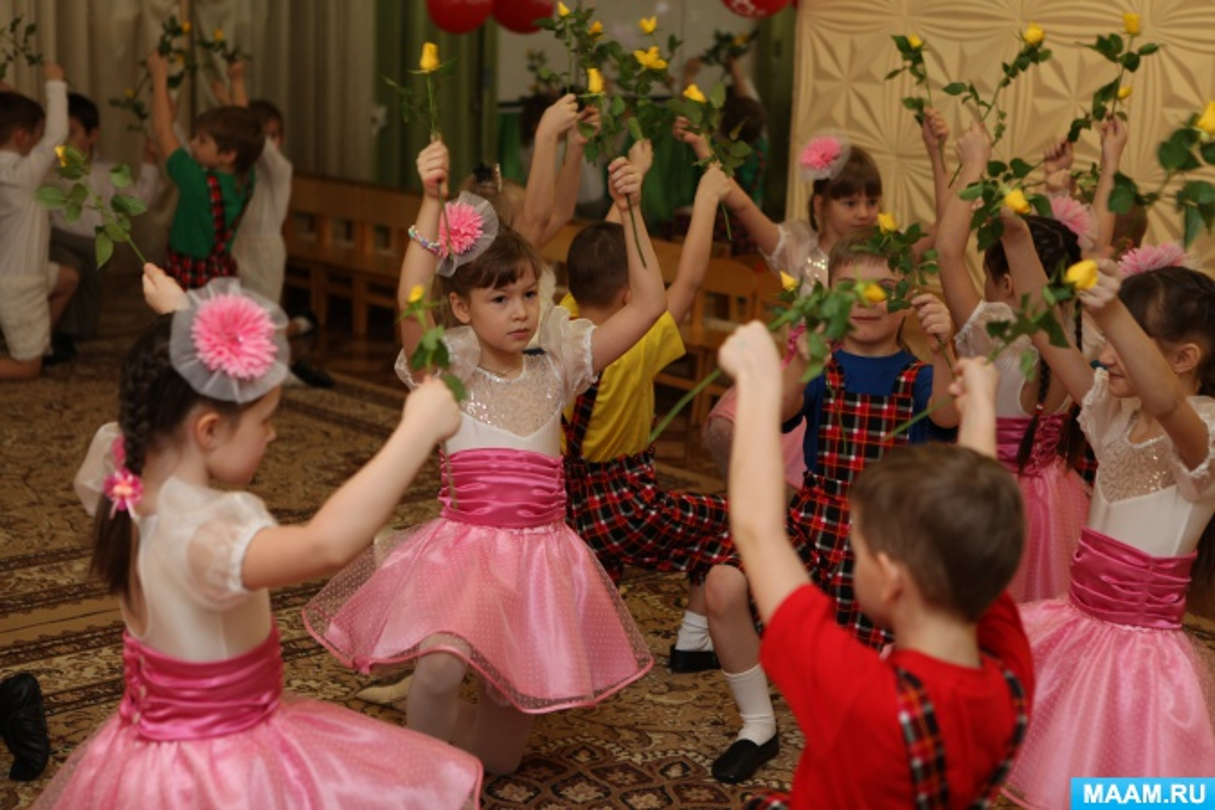 Сценарий праздника, посвящённого 8 Марта, для детей подготовительной группы «Сюрприз для мамочки»