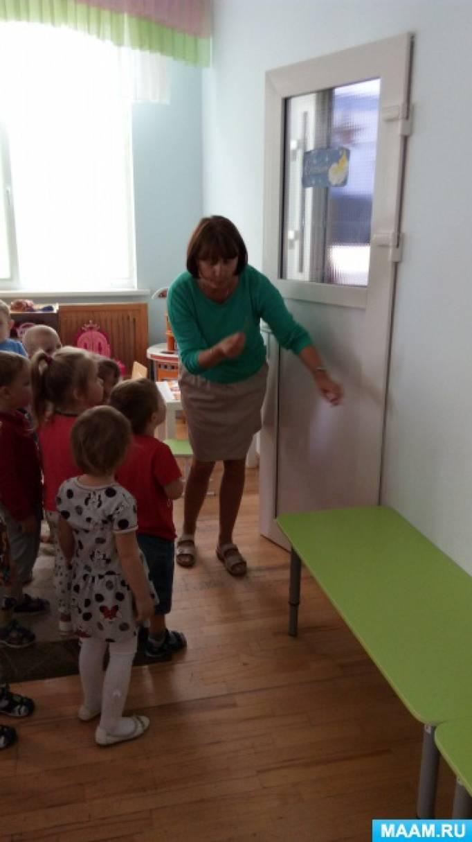 Маленькие педагогические хитрости. Берегите пальчики, или Как объяснить детям правила безопасного открывания дверей