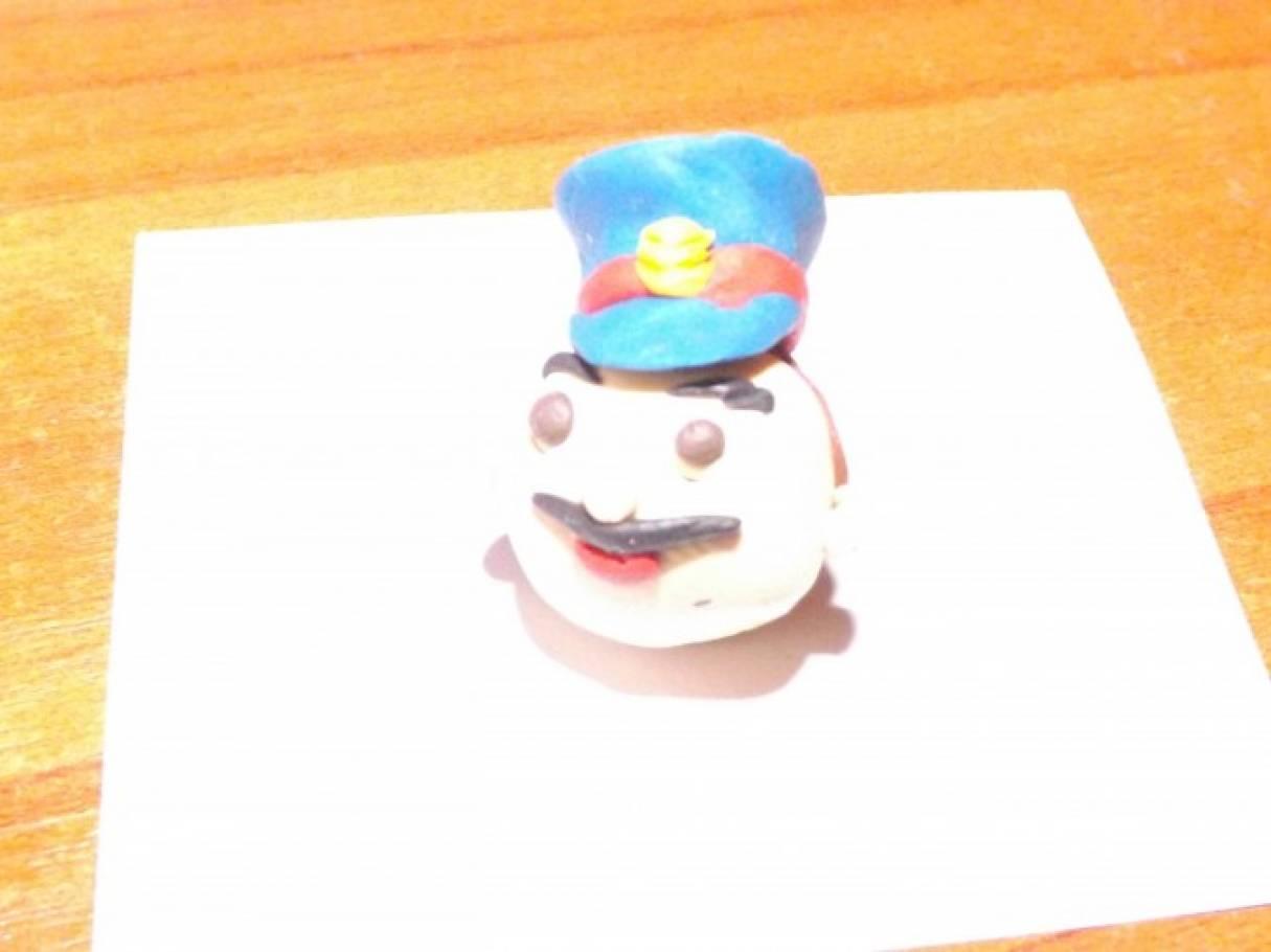 Картинки милиционера из пластилина детям 9 лет