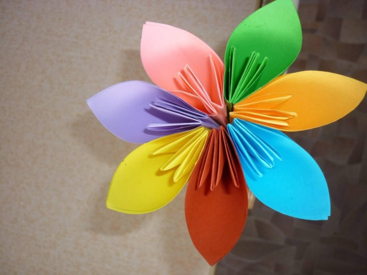 Как своими руками сделать цветик семицветик 35