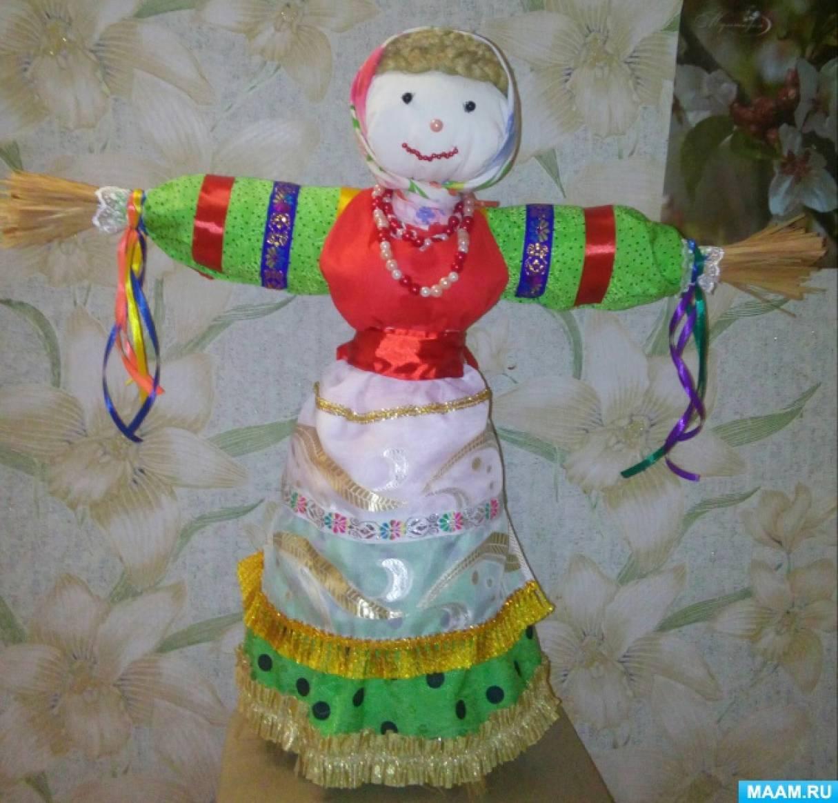 Кукла масленица с блинами название