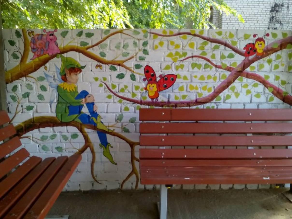 Украсить беседку в саду своими руками