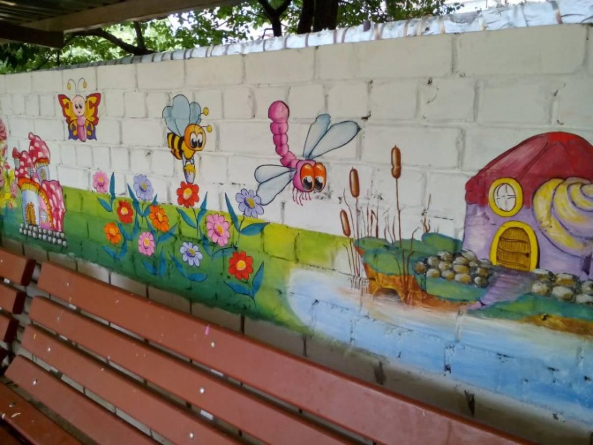 Оформление беседок детского сада своими руками фото 502