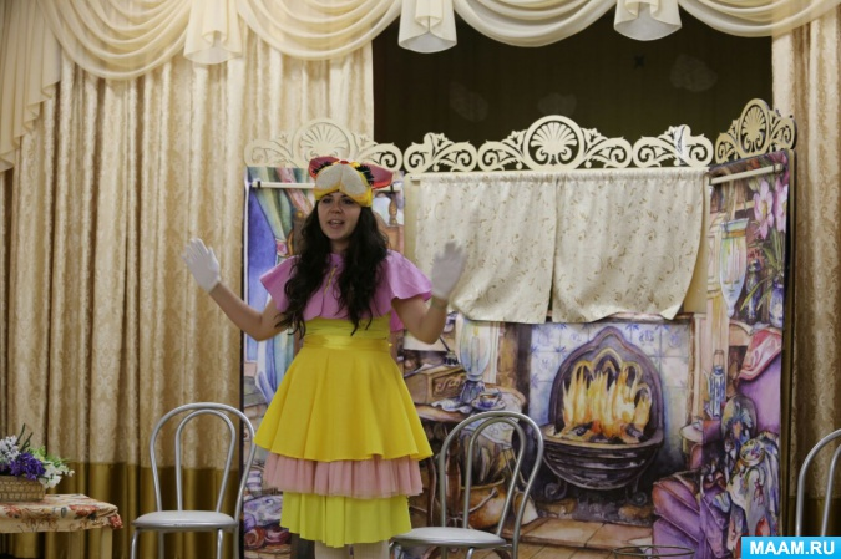 Сценарий спектакля для любительского театрального коллектива родителей «Кошкин дом»