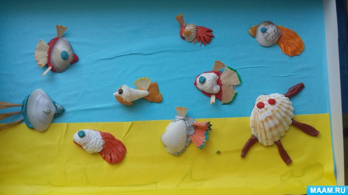 Макет «Аквариум с рыбками»