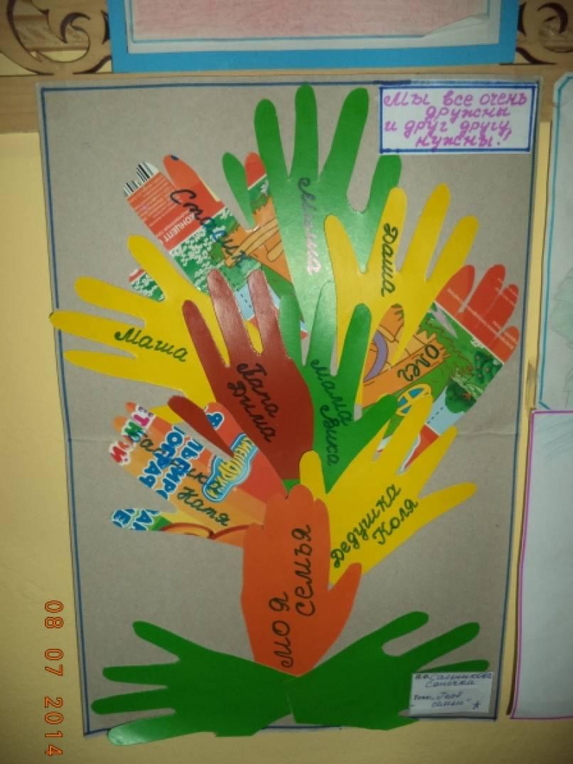 Герб семьи своими руками в детском саду 90