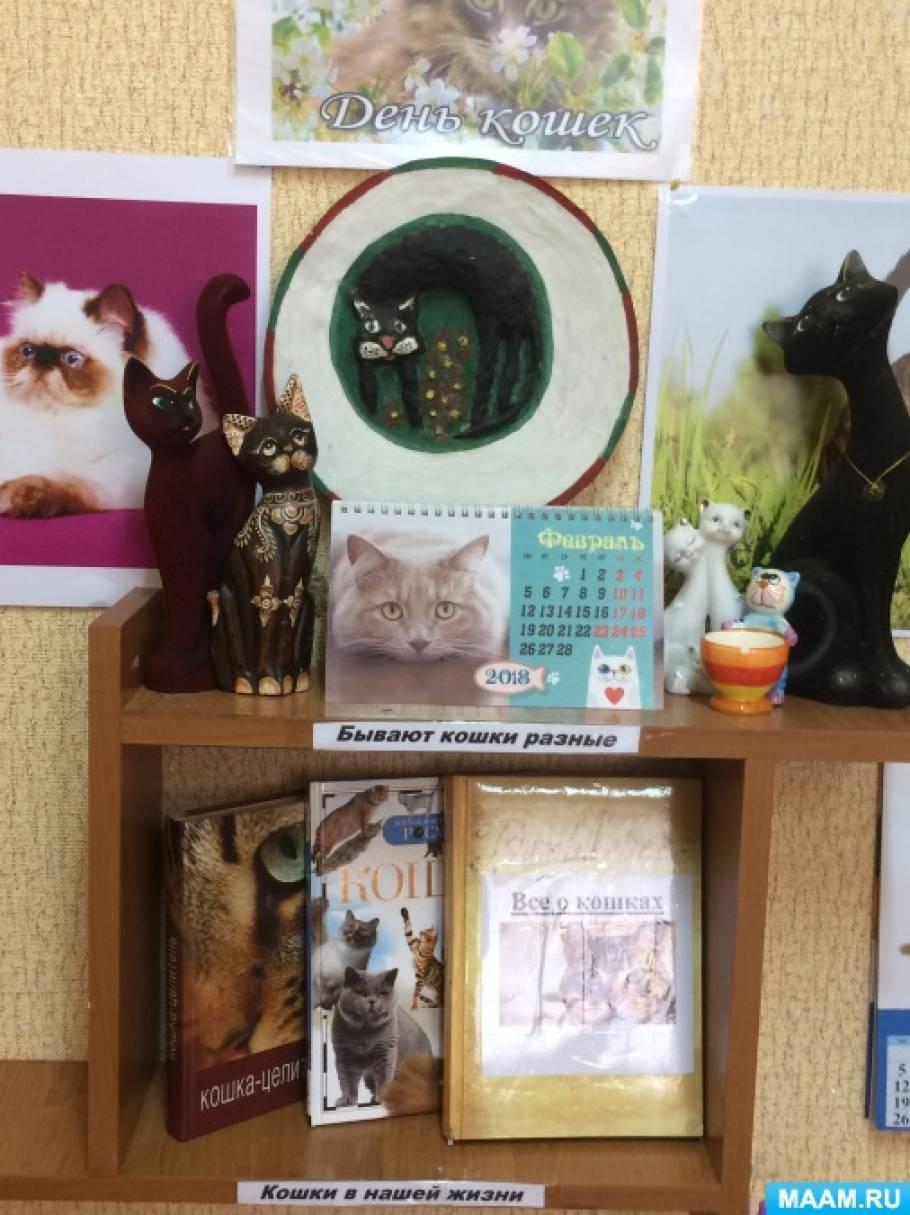 Фотоотчет о выставке «1 марта— День кошки»