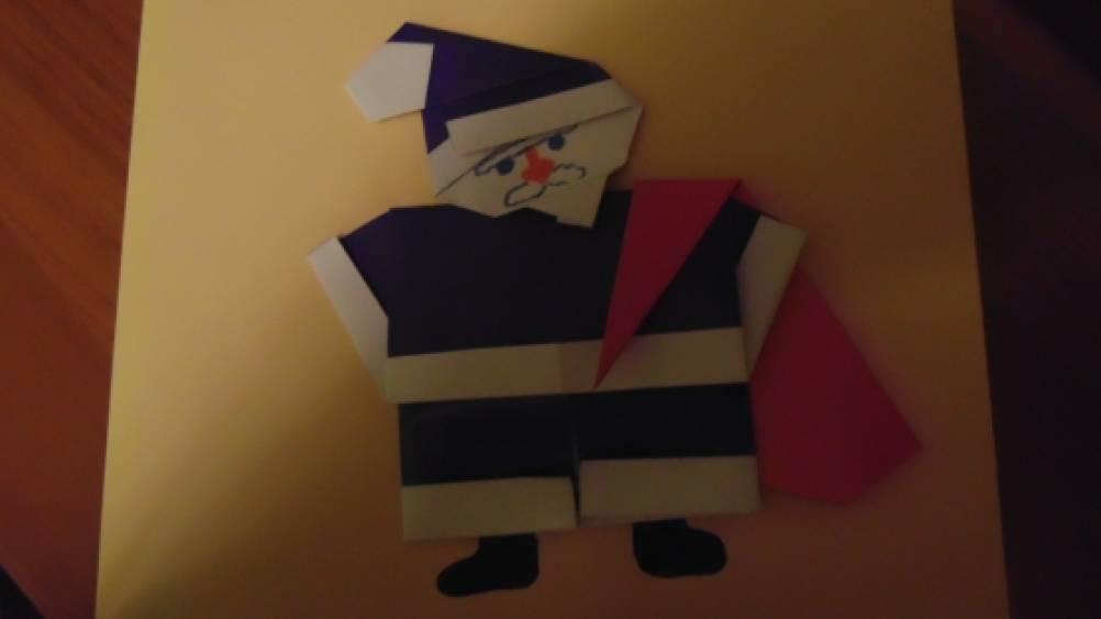 Мастер класс воспитателя по оригами