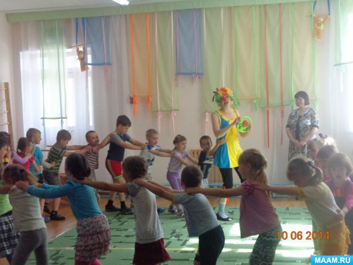 Сценарий летнего развлечения для детей