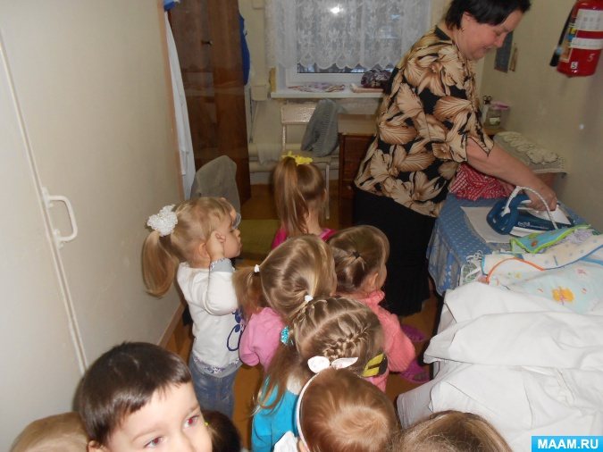 знакомство с воспитателем детского сада