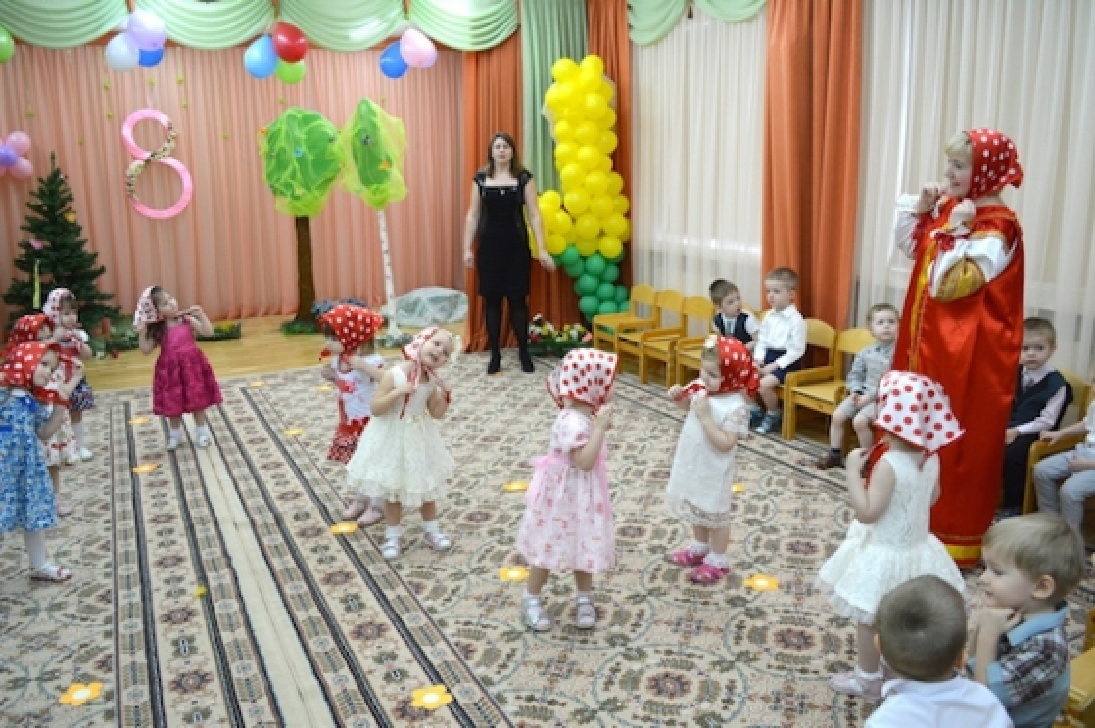 Сценарий 8 марта в детском саду с колобком