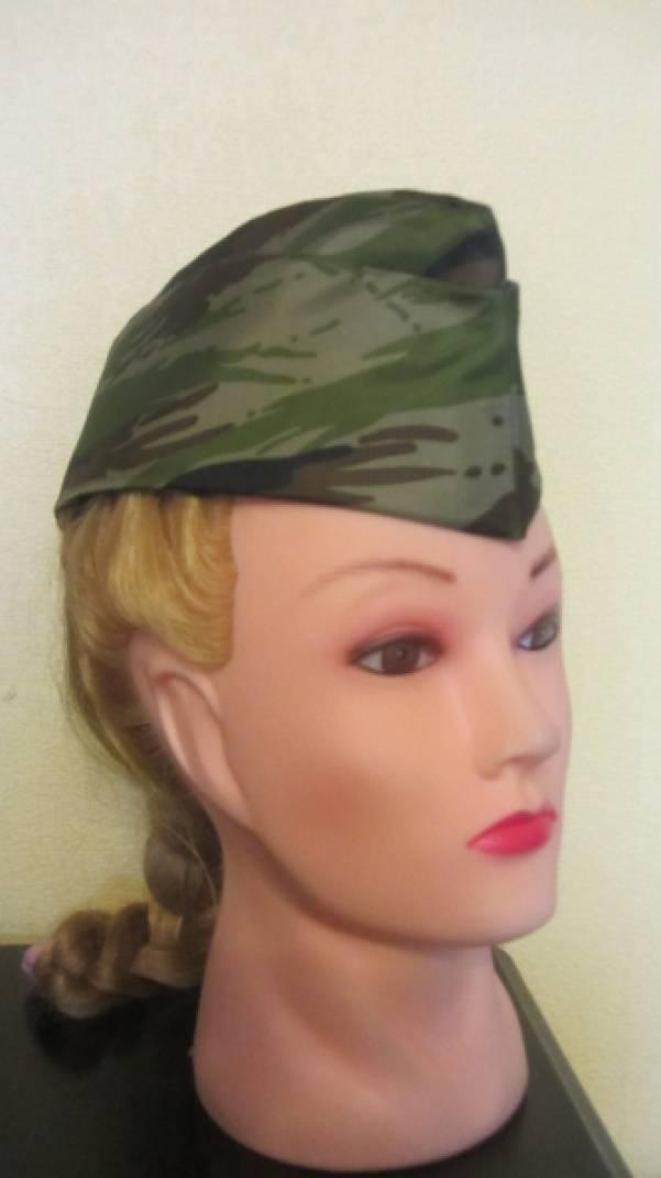 Мастер-класс «Военная пилотка»