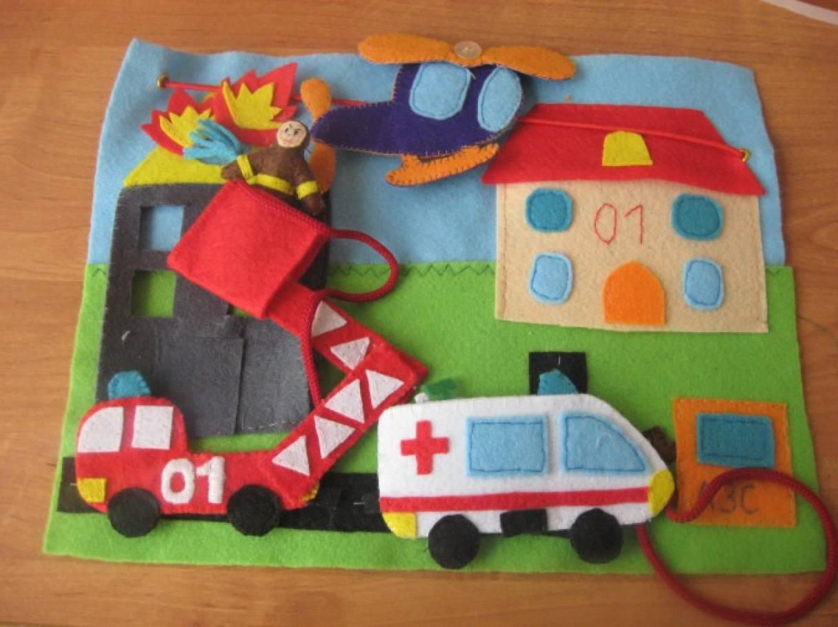 Транспорт для детей своими руками