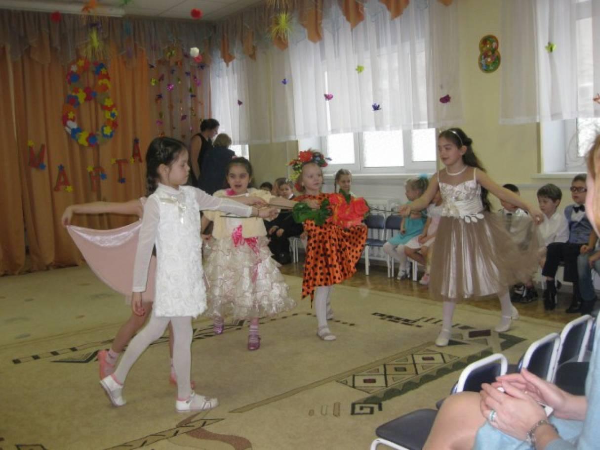 Сценарий праздника 8 марта в детском саду подготовительная группа